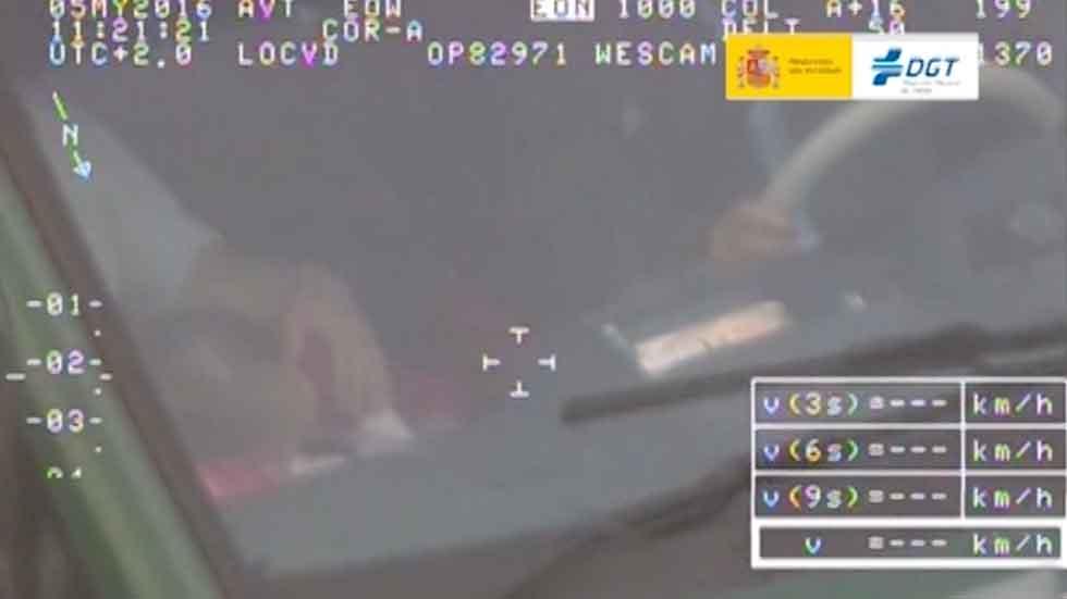 Campaña de control de uso del cinturón de seguridad: 3.083 infractores 'cazados' (vídeo)