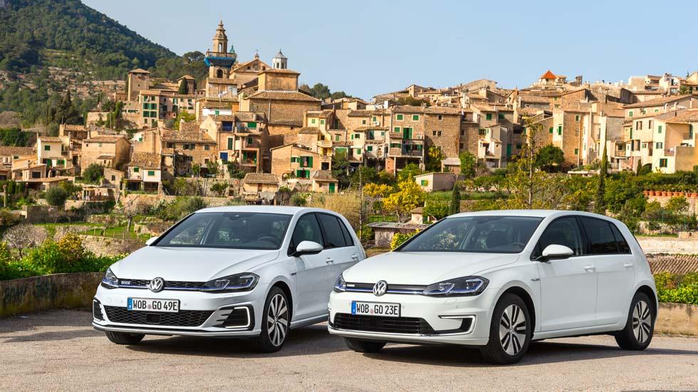 Probamos los Volkswagen Golf más eficientes: e-Golf y GTE