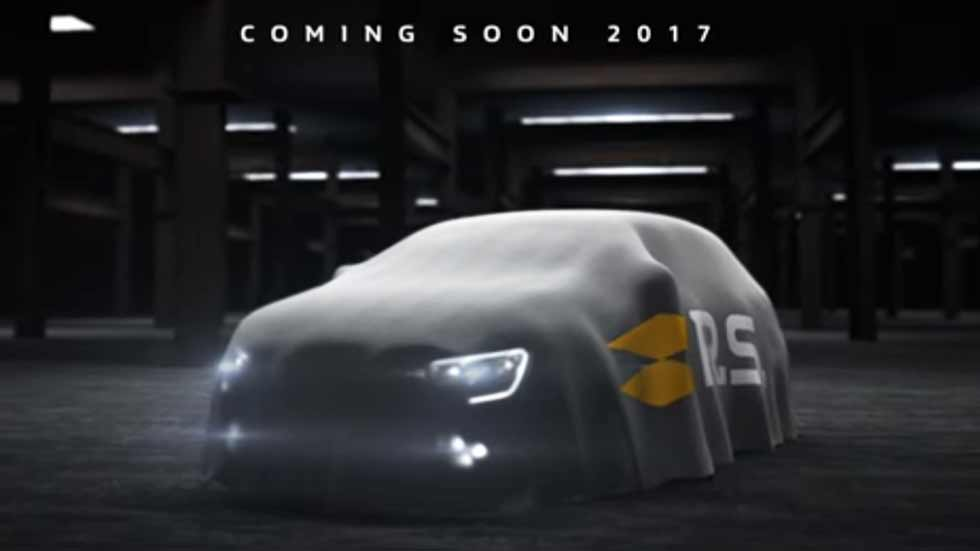 Renault Mégane R.S. 2017: primera imagen y vídeo