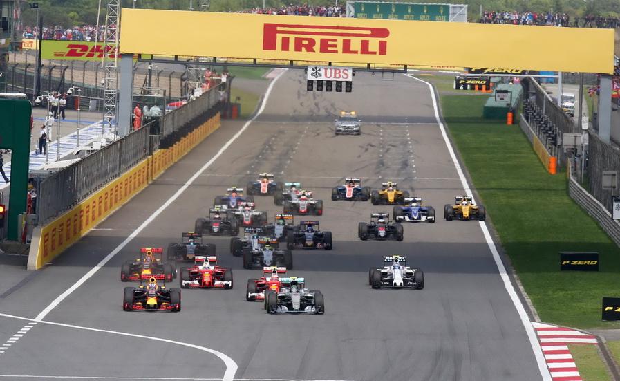 Fórmula 1: los números del Gran Premio de China 2017