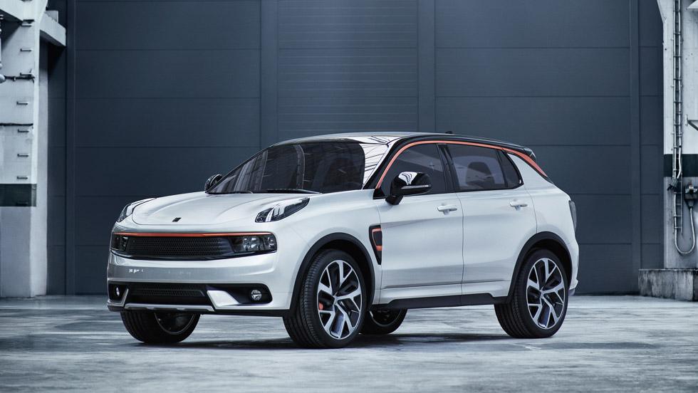 Los nuevos coches de la marca china Lynk & Co: un SUV, una berlina...