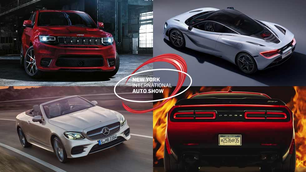 Los 10 mejores coches del Salón de Nueva York 2017