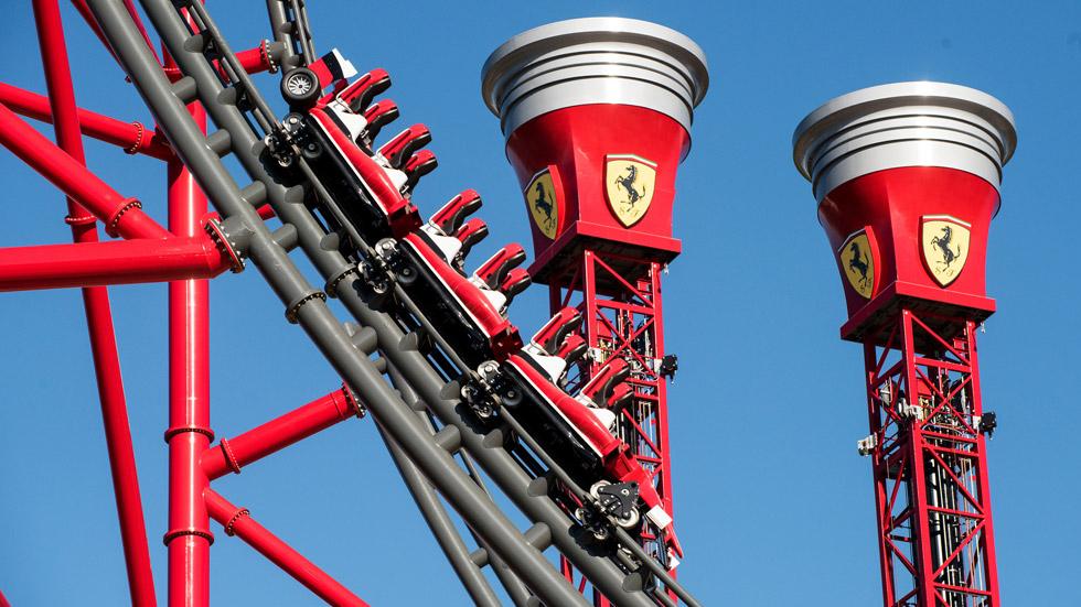 Ferrari Land: estreno en PortAventura este viernes 7 de abril
