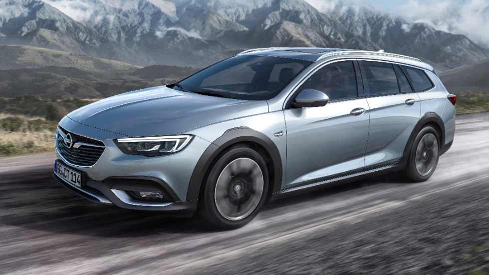 Opel Insignia Country Tourer 2018: así es el Insignia más aventurero