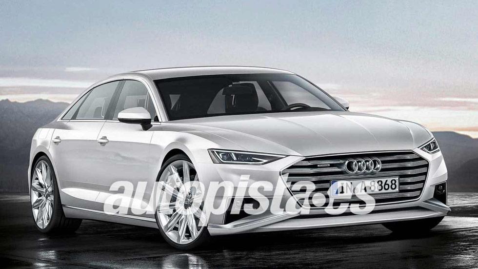 Así será el próximo Audi A8 que llegará este año