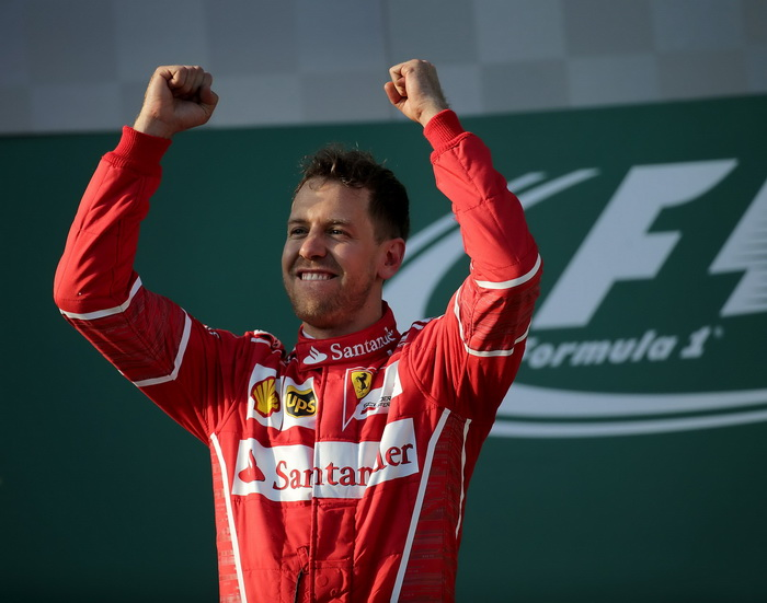 """Gran Premio de China de F1: Vettel recuerda como muy """"especial"""" su triunfo en Melbourne"""