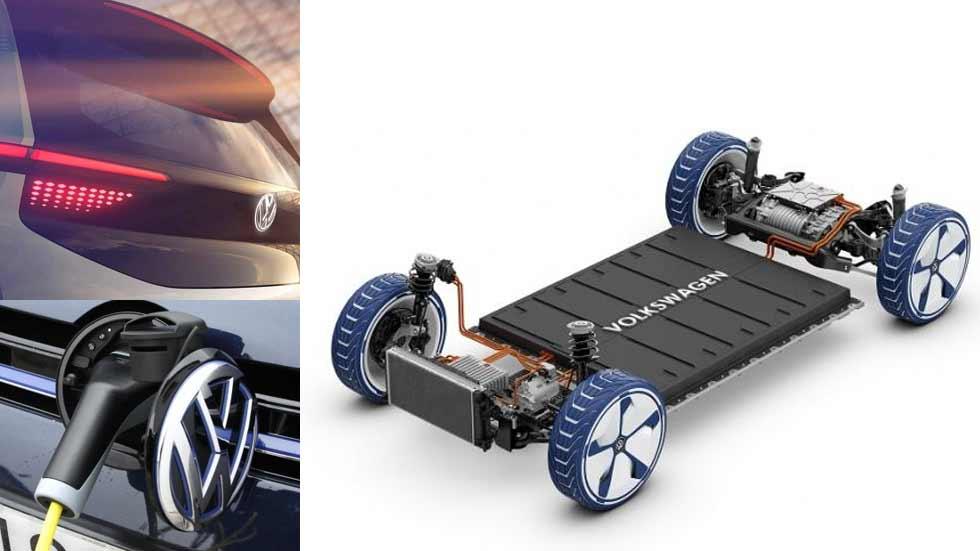 Volkswagen lanzará un sedán eléctrico en el Salón de Frankfurt