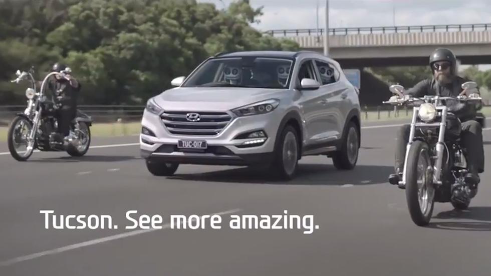 Hyundai Tucson, una forma divertida de ver este SUV súperventas (vídeo)