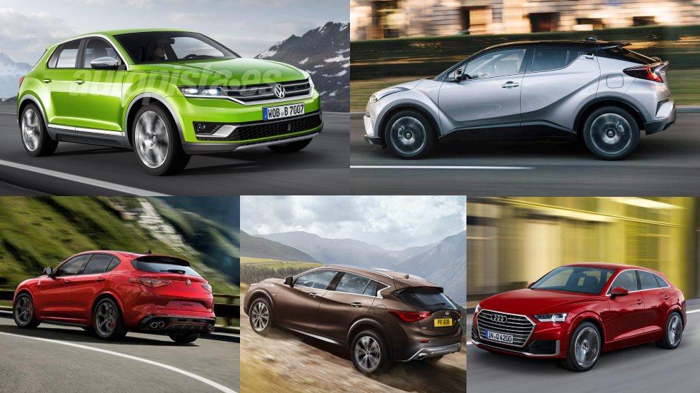 Todos los SUV coupés del mercado… y los que llegarán