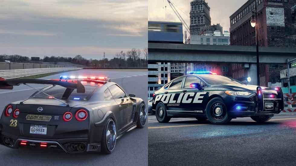 Los dos últimos y radicales coches de la policía americana