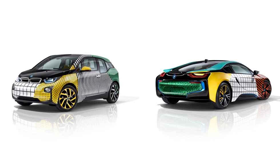 Los BMW i3 y BMW i8 más fashion del momento