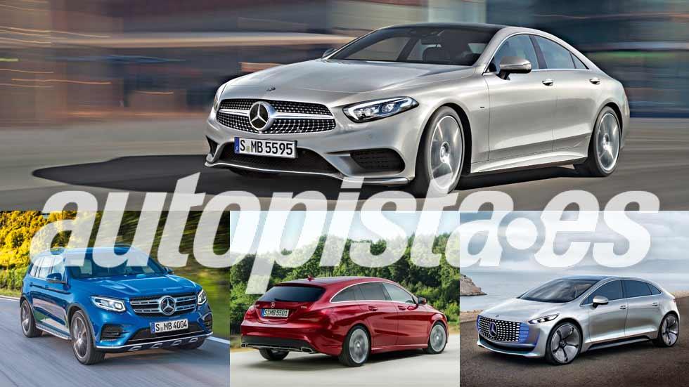 Autopista 3003: los nuevos coches y SUV de Mercedes hasta 2020