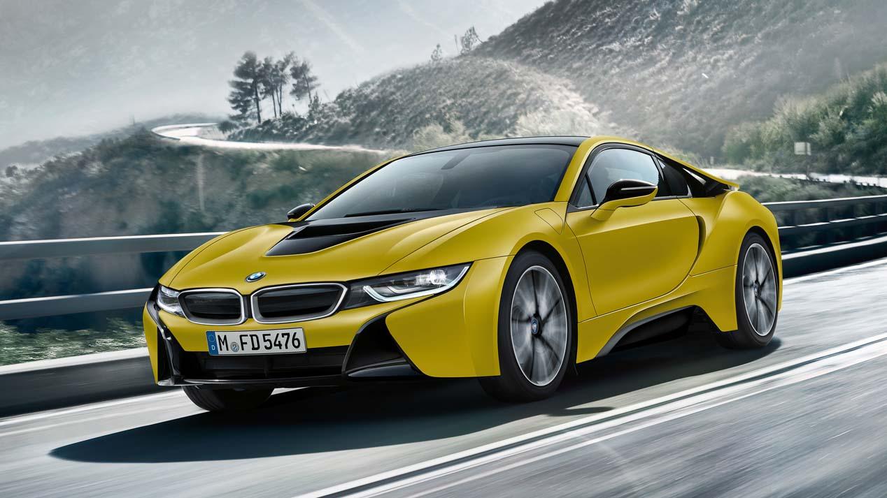 BMW i8 Protonic Frozen y Serie 5 L: los BMW más exóticos