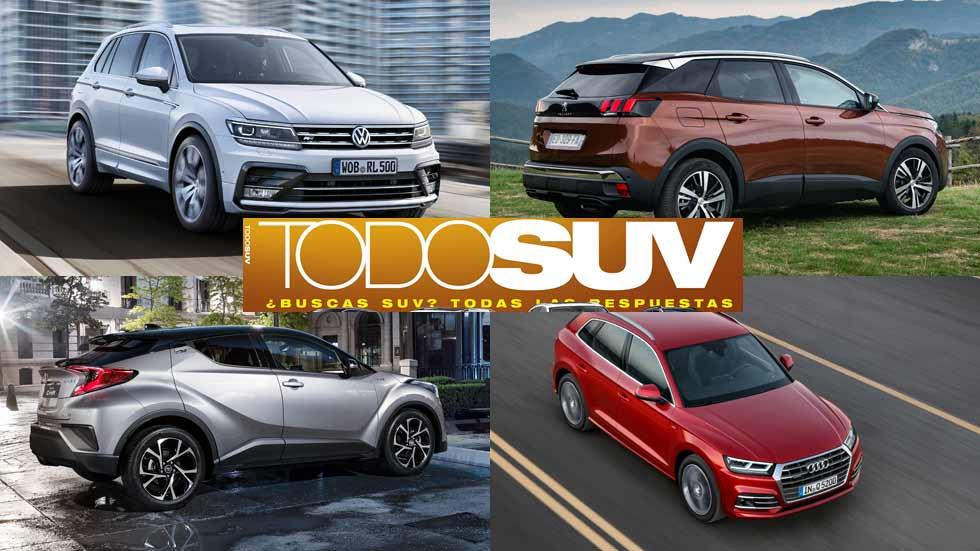 Especial TODOS LOS SUV del mercado: pruebas, consumos reales...