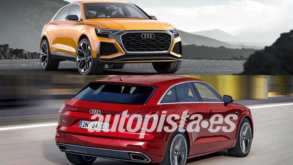 Los nuevos SUV Audi Q4 y Q8 se fabricarán en Europa: más datos y fotos
