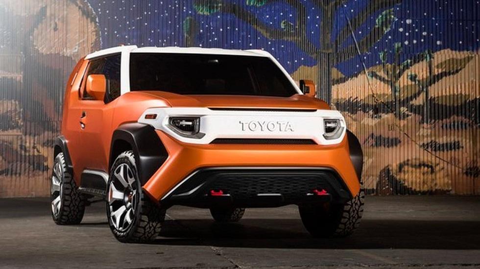 Toyota FT-4X Concept: un SUV futurista sorprendente