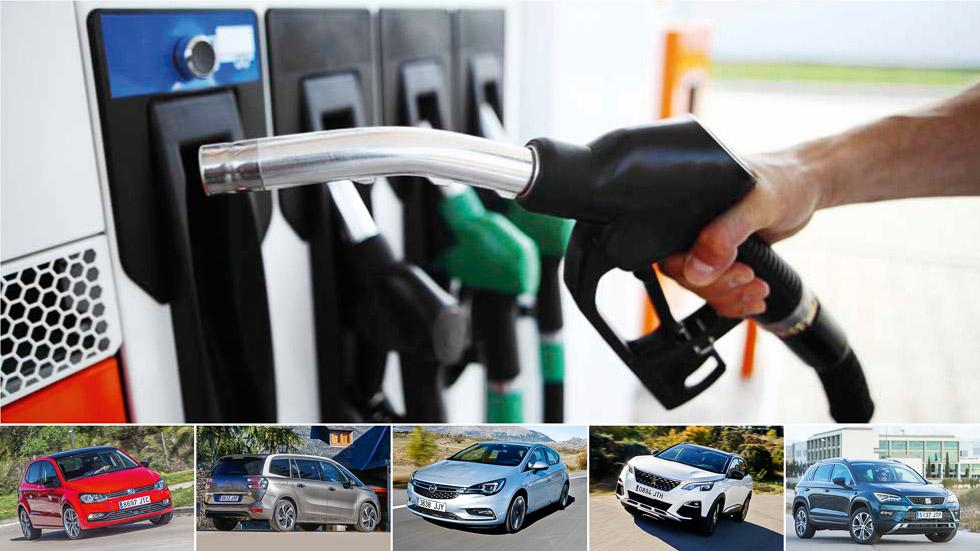 ¿Qué interesa más, gasolina o Diesel? Lo analizamos en cinco coches