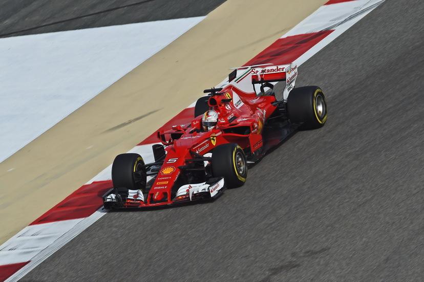 GP de Baréin de F1: FP2- Vettel, otra vez el más rápido, aunque con problemas