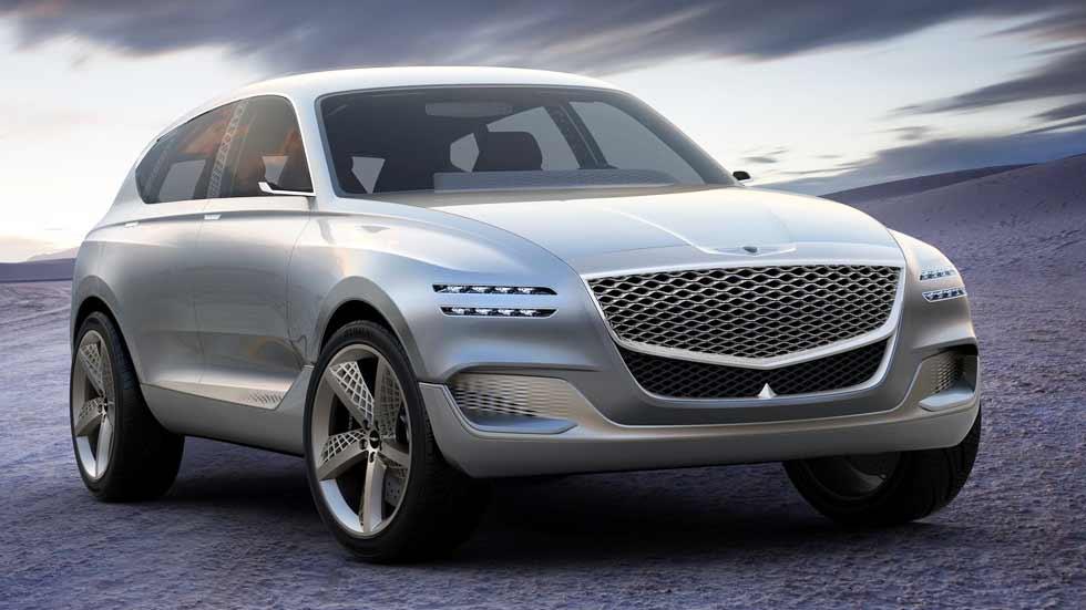 Genesis GV80 Concept: nuevo SUV rival de Audi Q7, BMW X5...