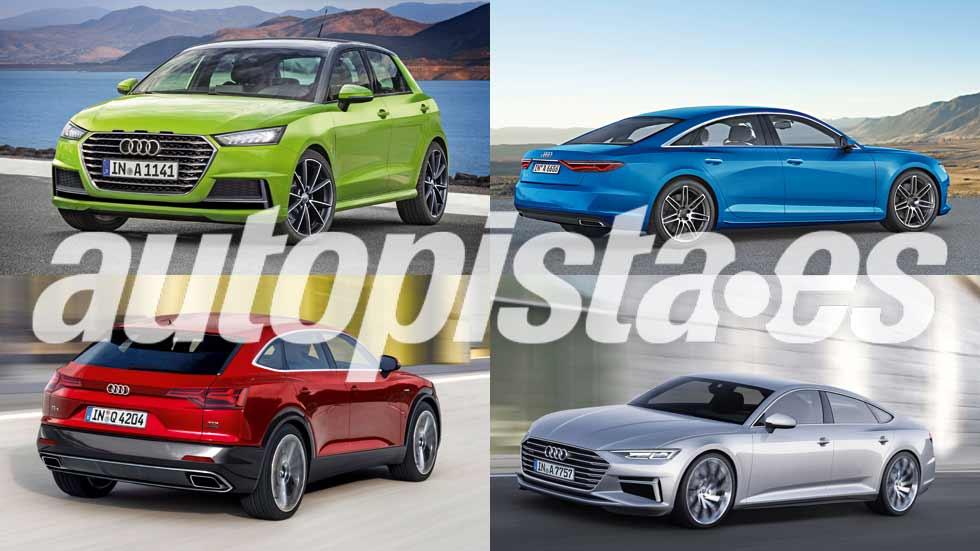 Revista Autopista 3004: los coches y los SUV de Audi en el futuro