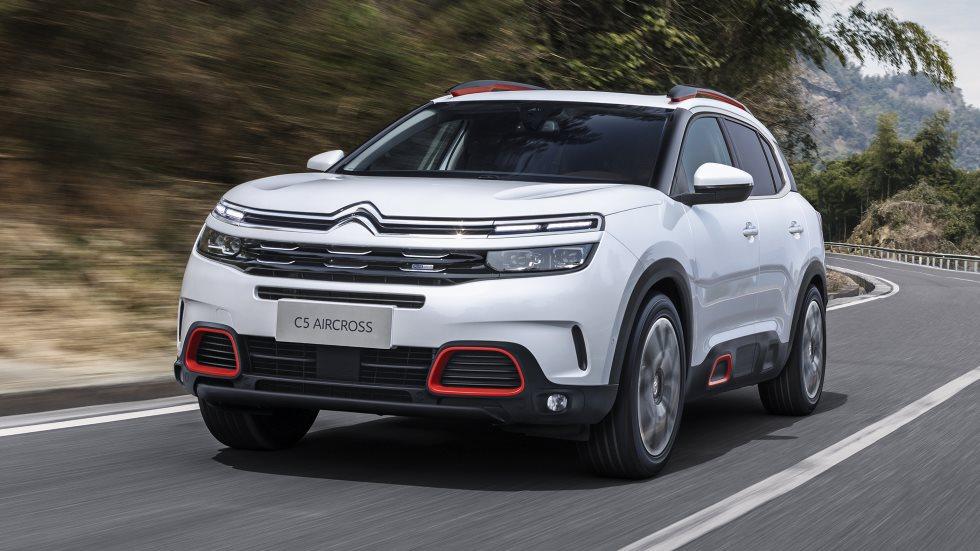 Citroën C5 Aircross: nuevo SUV a la venta en 2018