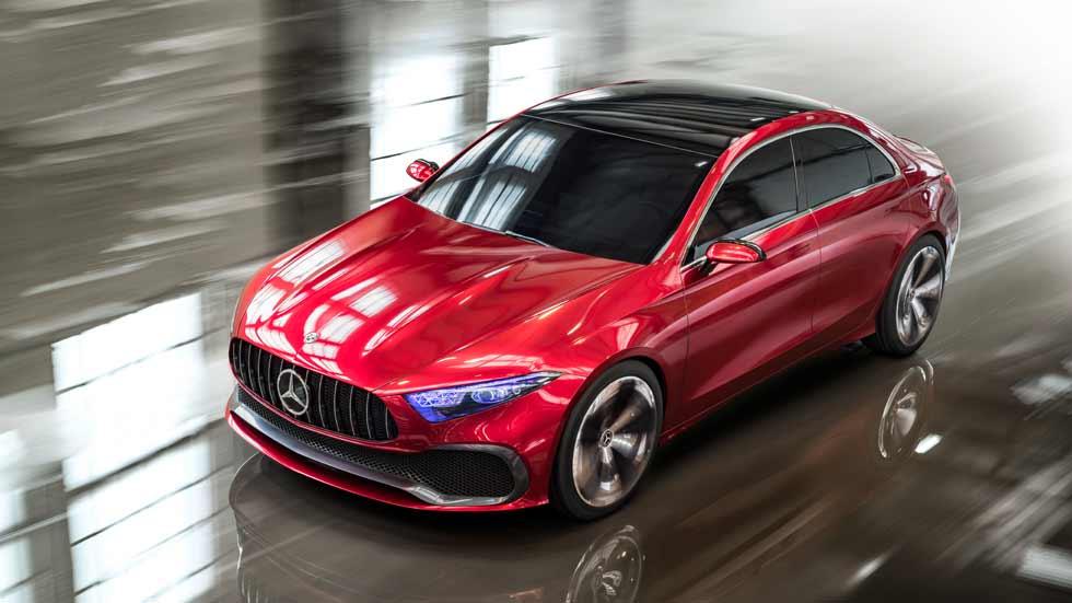 Mercedes Concept A Sedán: así serán los futuros Clase A, B, CLA y GLA