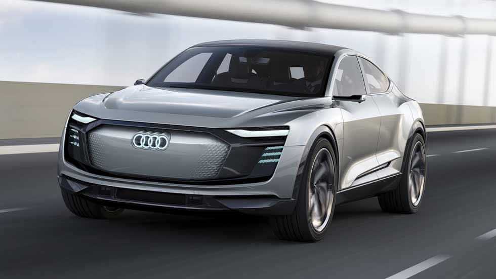 Audi e-tron Sportback concept: berlina deportiva eléctrica en 2019