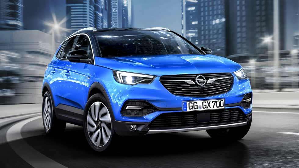 Opel Grandland X: primeras fotos y datos oficiales del nuevo SUV