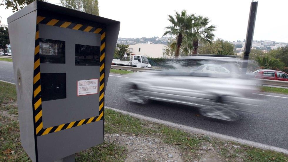 Cazados: los mayores excesos de velocidad pillados en Europa