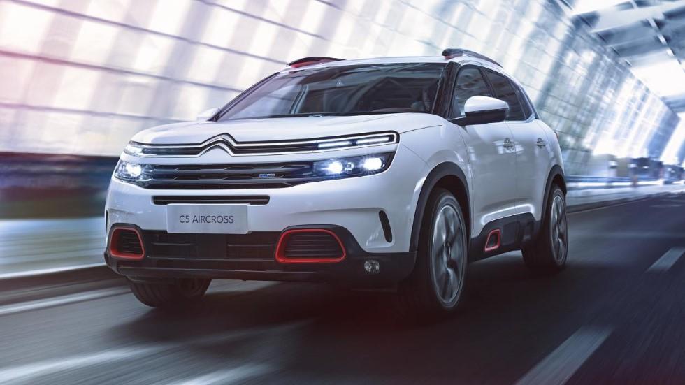 El nuevo Citroën C5 Aircross y su revolucionaria suspensión, en vídeo