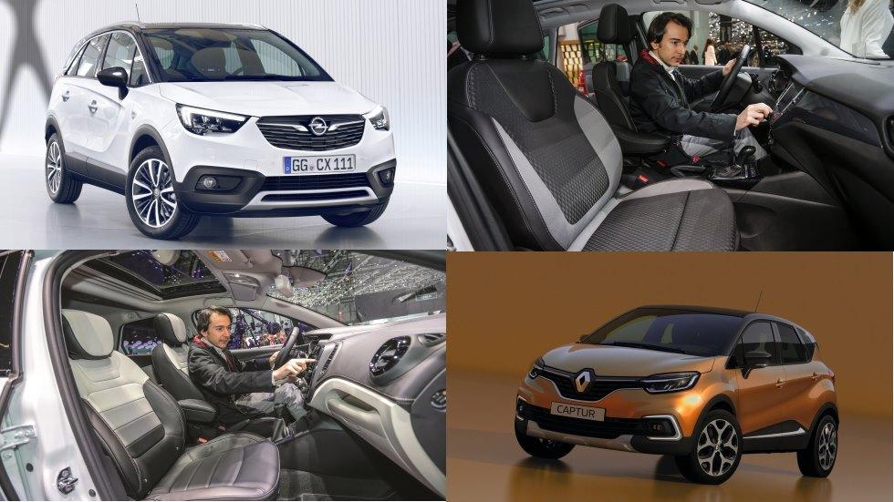 Opel Crossland X vs Renault Captur: el duelo de nuevos SUV