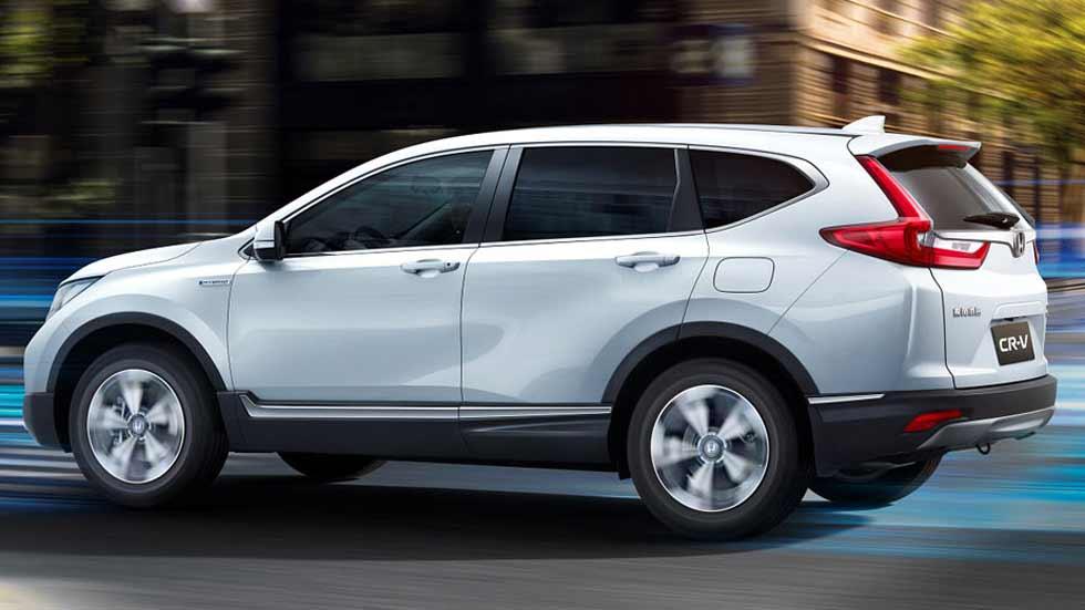 Honda CR-V Hybrid: nuevo SUV híbrido en el Salón de Shanghai