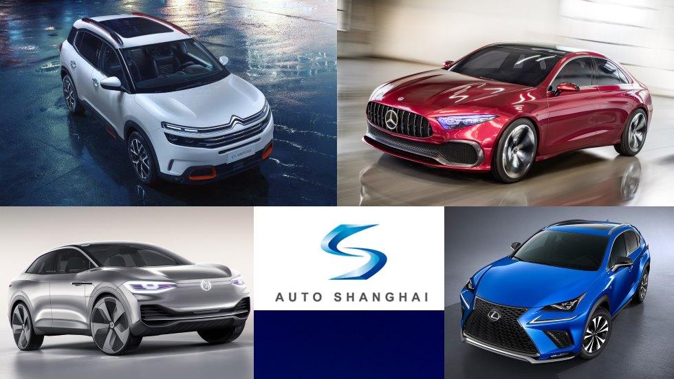 Los mejores coches y SUV del Salón de Shanghai: ¡llegarán!