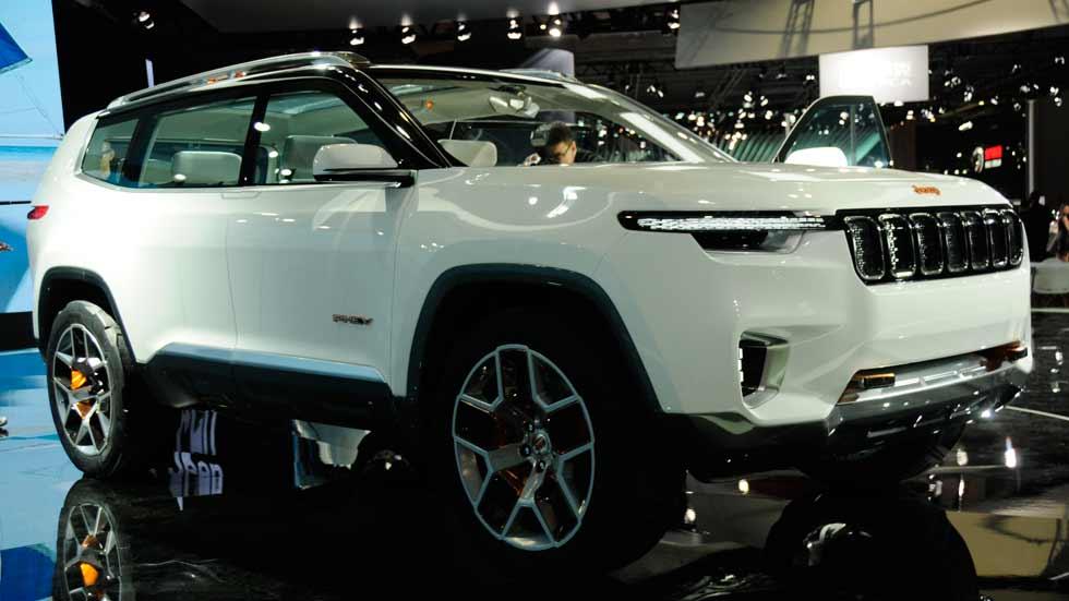 Así es el Jeep Yuntu Concept, un sorprendente SUV híbrido para 6 pasajeros