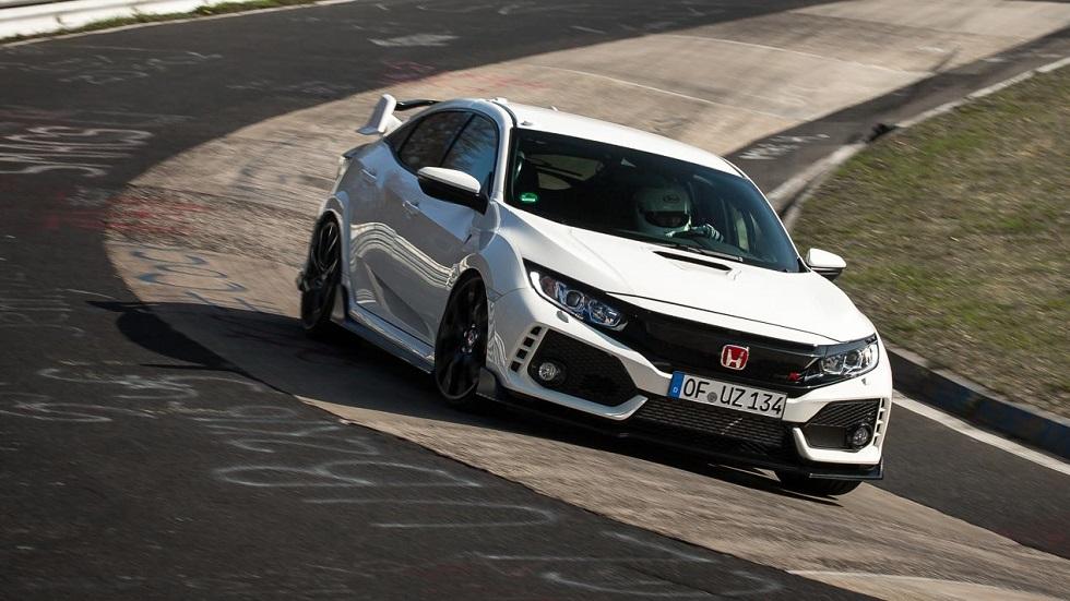 El Honda Civic Type R 2017, el tracción delantera más rápido en Nürburgring