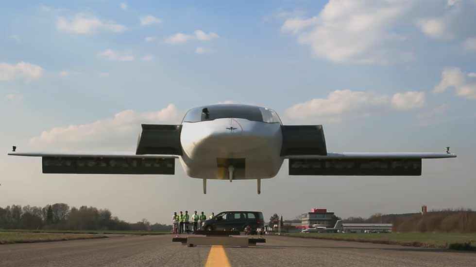El coche volador ya está aquí: así vuela el nuevo Lilium Jet (vídeo)