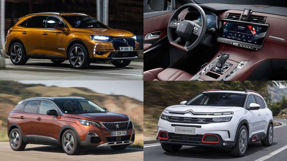 Los SUV con los que PSA ataca el mundo: Citroën C5 Aircross, DS 7 y Peugeot 3008
