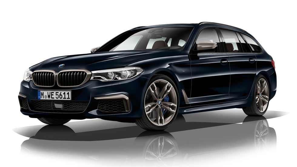 BMW M550d xDrive Touring: un familiar Diesel de 400 CV