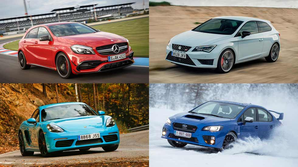 Top 10: los coches más potentes con motor de 4 cilindros