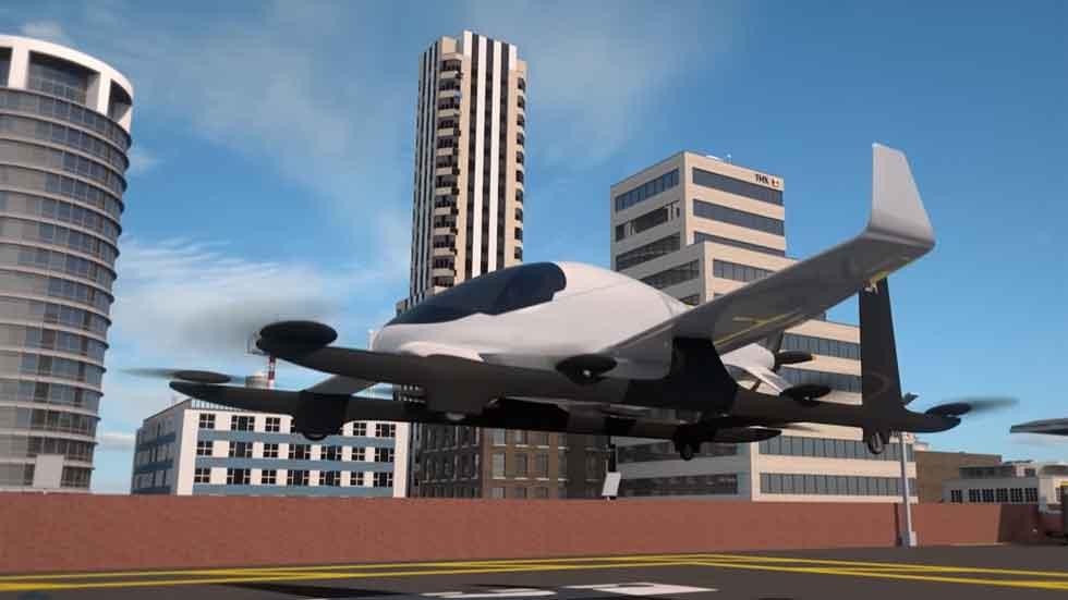 Uber también lanzará un coche volador en 2020 (vídeo)