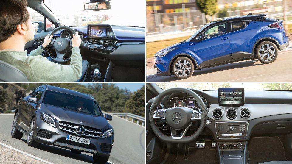 Mercedes GLA 200d vs Toyota C-HR: ¿qué nuevo SUV es mejor?