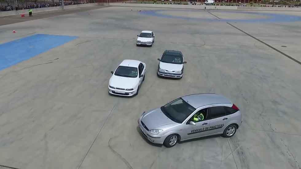 Así aprende a conducir la Guardia Civil (vídeo)