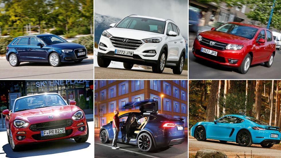 Los coches más y menos vendidos de cada marca en España
