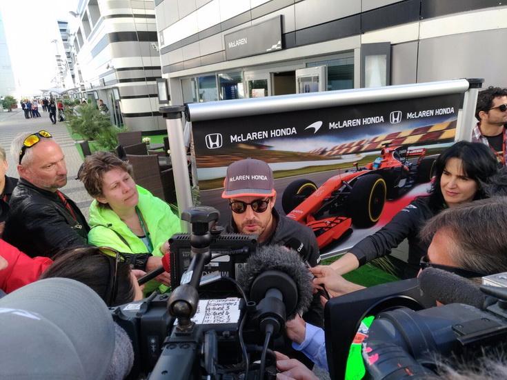 GP de Rusia de F1: Alonso es optimista de cara a este fin de semana