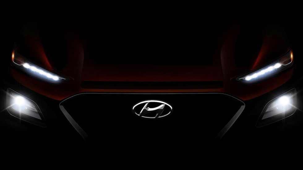"""Hyundai Kona: nueva imagen y más datos del SUV """"mini"""" Tucson"""