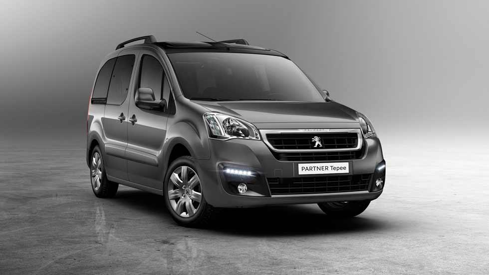 Peugeot Partner Tepee Style, nueva versión para cinco plazas con motor de 100 CV