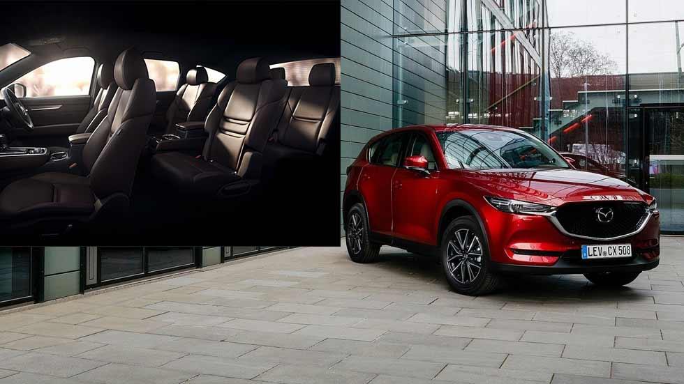 Mazda CX-8, el nuevo SUV de 7 plazas