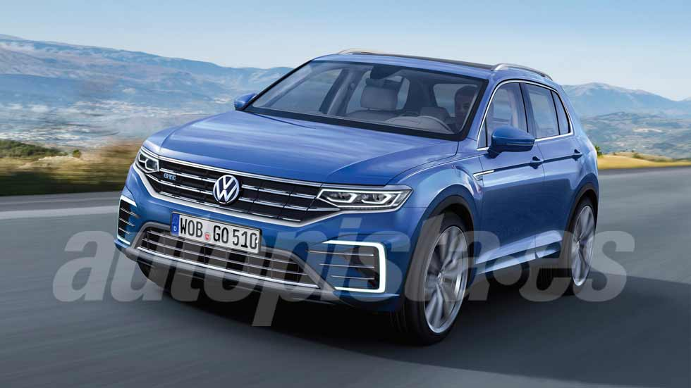 volkswagen t roc primer v deo y fotos del nuevo golf suv. Black Bedroom Furniture Sets. Home Design Ideas