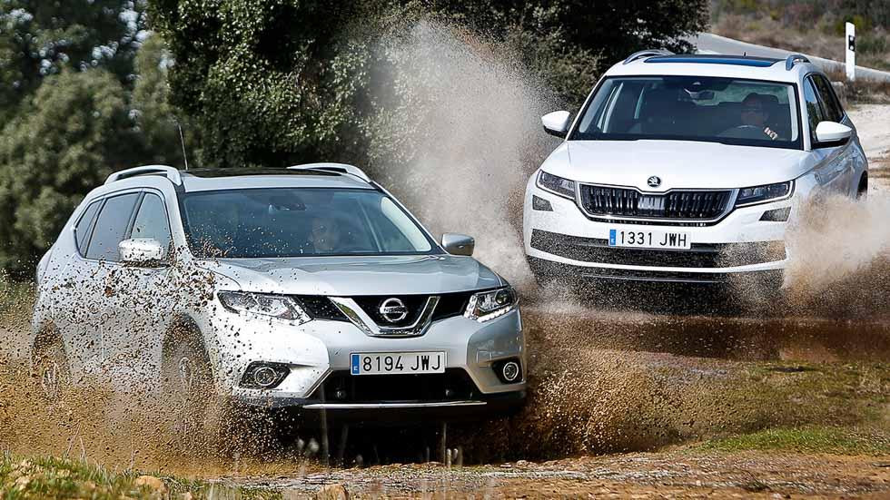 Nissan X-Trail vs Skoda Kodiaq: ¿qué gran SUV es mejor?