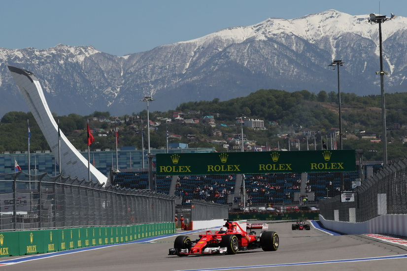 GP de Rusia de F1: Dominio Ferrari en la FP2